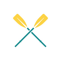 Icon of  boat oars