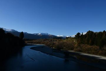 ニュージーランドのクイーンズタウンの風景