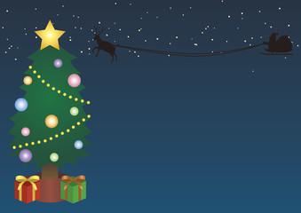 クリスマス背景