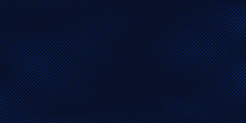 Abstract dark blue background with halftone pattern light blue  texture. Creative cover design template