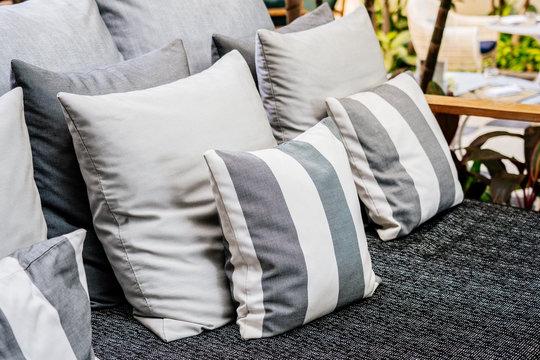 Beautiful comfortable Pillow sofa decoration