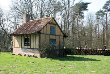 little farm in Bokrijk, Belgium