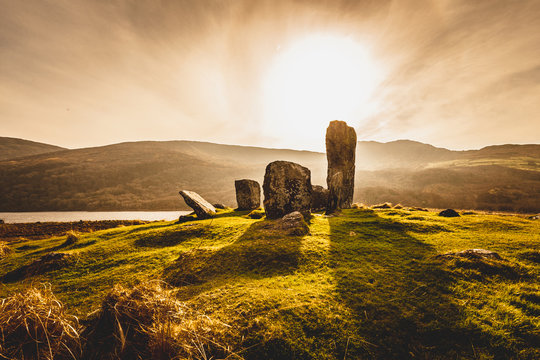 Uragh Stone Circle, Gleninchaquin Park, Co. Kerry, Ireland