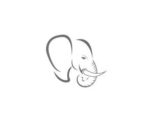 Elephant icon vector illustration