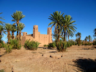 Tuinposter Tunesië Ksar, Warzazat, Morocco