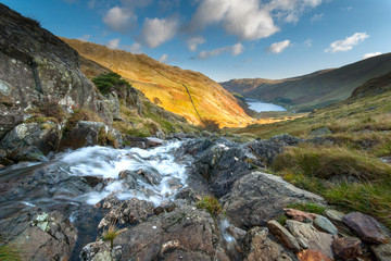 Small water beck  haweswater lake district cumbria.