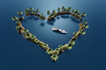 Heart in the sea.