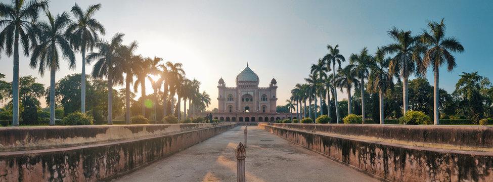 Safdarjung tomb at New Delhi
