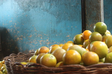 laranja Fototapete