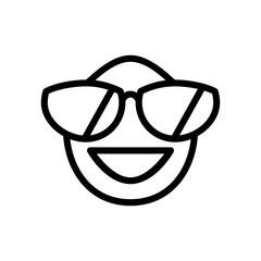 Emoji icon. Party sign