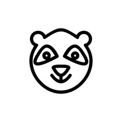 Bear toy icon. Children store sign