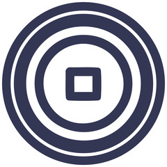 stop button circular icon