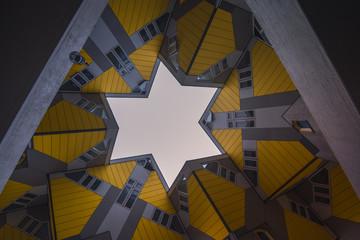Keuken foto achterwand Rotterdam Cube Houses, Rotterdam