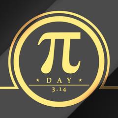 Pi day symbol
