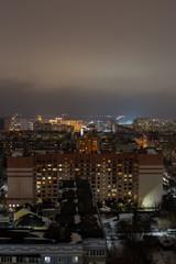view of the night Ryazan