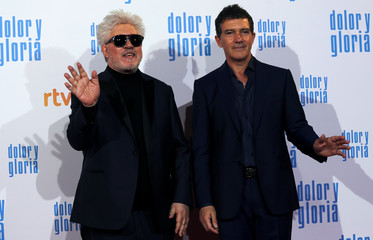 """Premiere of Almodovar's film """"Pain and Glory"""" in Madrid"""