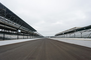 View of the Indianapolis Motor Speedway