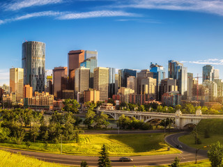 Fotomurales - City skyline of Calgary, Canada
