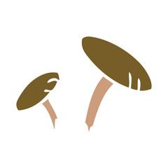 cartoon doodle of some mushrooms