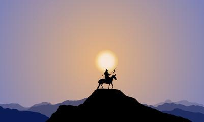 A Warrior Under The Sunset