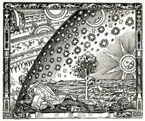 Earth Touches the Heavens, Astronomy Symbolism