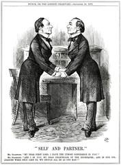 William Gladstone As Twins