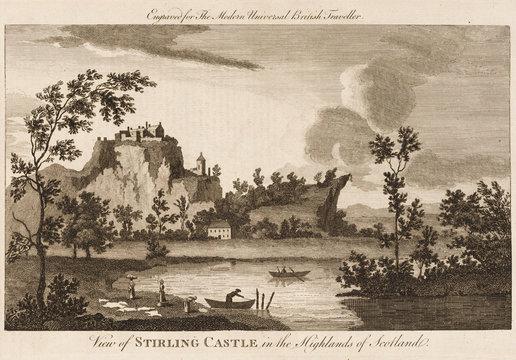 Stirling Castle, Scottish Highlands