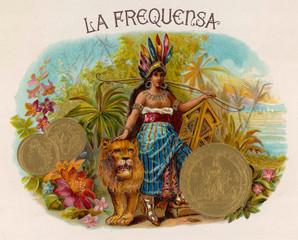 Cigar Label, La Frequensa