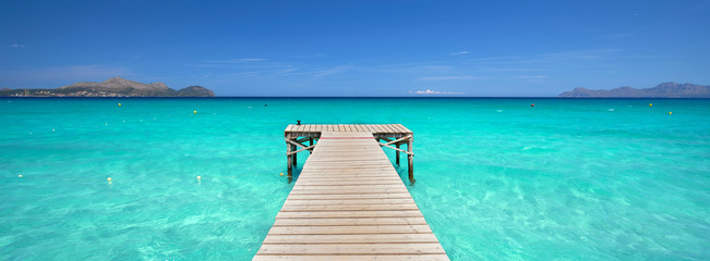 Sommer am Meer am Strand