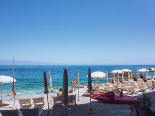 beach at Sicily Italy