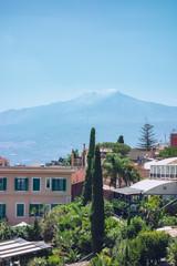 Etna at Sicily Italy