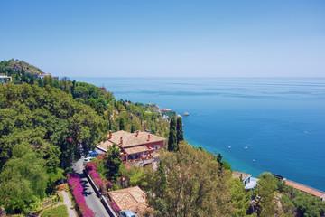 ocean at Sicily Italy