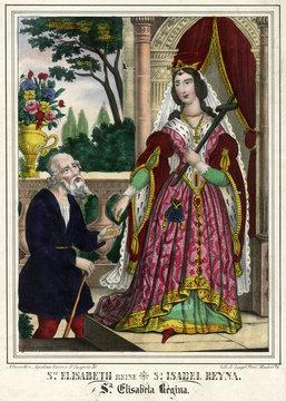 Saint Elisabeth, Princess of Hungary