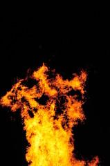 bonfire, fireplace, midsummer