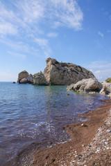 Petra-tou-Romiou - place of Afrodita birth on Cyprus