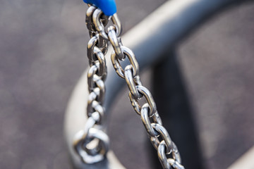 Baby chain swing