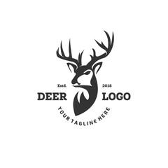 deer logo designs inspirations, hunting club logo