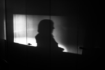 Shadows in the office 2