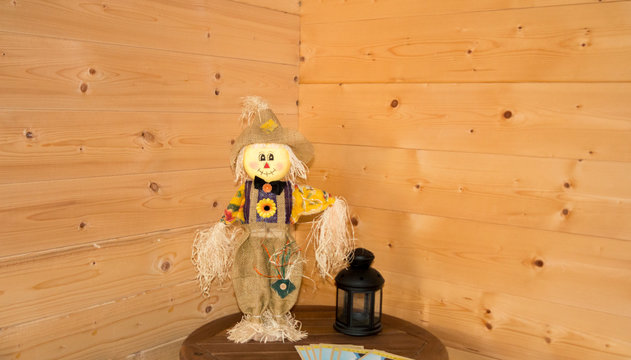 Scarecrow at home