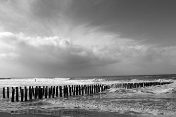 Strand in Domburg, Niederlande