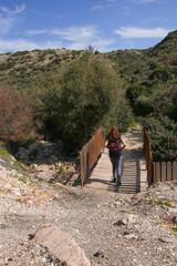 Start of the Petra-tou-Romiou nature trail - Cyprus (birthplace of Aphrodite)