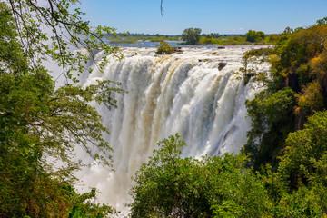 Victoria Falls on Zambezi river - Livingstone-Zambia (Mosi-oa-Tunya)