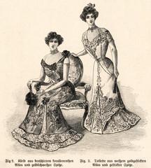 Dinner Dresses 1900
