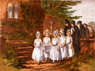Funeral Child, 1861