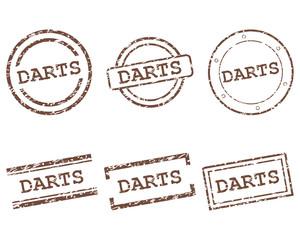 Darts Stempel