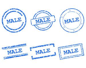 Male Stempel