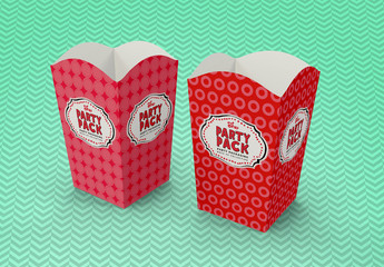 Party Tub Packaging Mockup