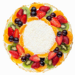 Fruit Cake with coconut chips