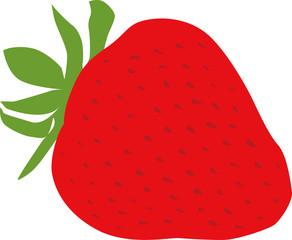 イチゴ,果物,フルーツ,イラスト,ベクター,いちご,ビタミンC,栄養,甘い,デザート,食材,白バック,フレッシュ,ビタミン,苺,赤,食べ物