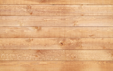 Poster Bois Wood brown texture background. Natural wooden planks.